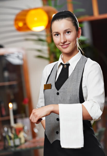 Английский язык для официантов и барменов